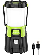 Euloca 2 1200 Lumens Rechargeable Dimmable 4 Modes Torch for Outdoor Lighting, Camping, Bivvy, Home, DIY, with USB Cable Baby-Girls, 2, 2