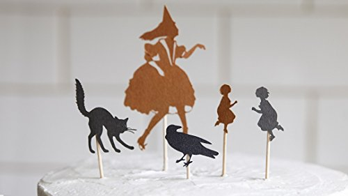 Cricut Crafts: Make Halloween Cupcake Toppers ()