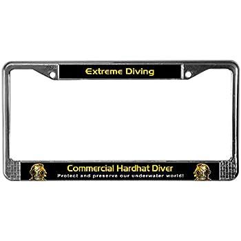 ZOMBIE OUTBREAK RESPONSE VEHICLE Black License Plate Frame Tag Border