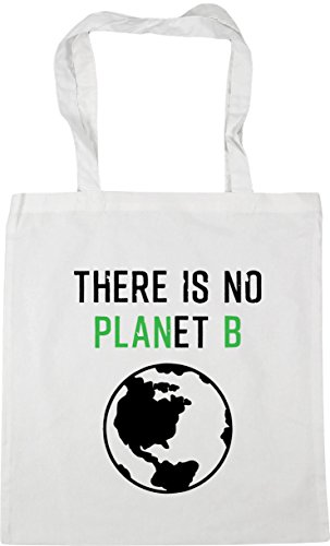 litres B Planet There x38cm 42cm Tote 10 HippoWarehouse Gym Is Beach Shopping No White Bag SUCwnq4O
