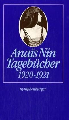 Tagebücher 1920-1921