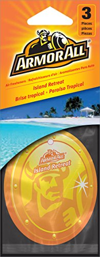 Armor All 17793 Hanging Air Freshener, Island Retreat Scent - 24 Pack