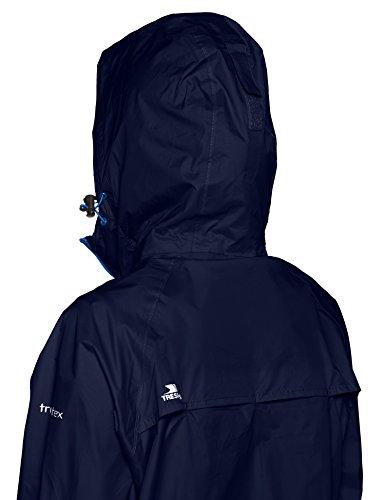 Femme Trespass Coupe Qikpac fonc Bleu Vestes Jacket Pluie qXf7gX