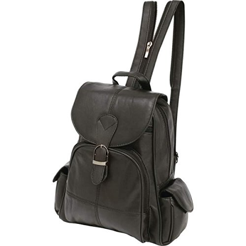 bnfusa-lulbp2-black-solid-lambskin-leather-backpack-with-magnetic-closure