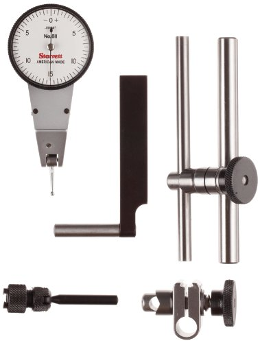 Dial Indicator Accessories : Starrett cz dial test indicator with swivel head