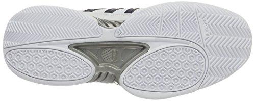 K-Swiss Performance Receiver Iii, Zapatillas de Tenis para Hombre Blanco (White/navy/fieryred)