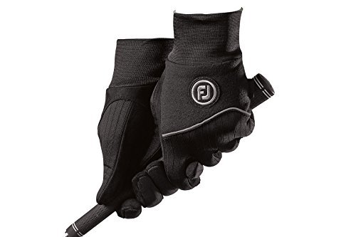 Men Golf Glove (New Improved FootJoy WinterSof Golf Men's Gloves (1 Pair- Left & Right) #1 Glove in Golf (Medium))