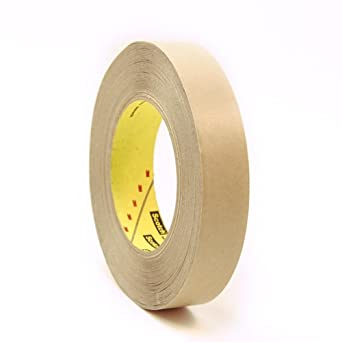 "CS Hyde 3M 9460PC Very High Bond Transfer Tape, VHB Acrylic Adhesive, Liner, 2mm Thick, Clear, 0.5"" Width, 36 Yard Roll"