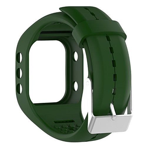 Awinner Bands for Polar A300,Silicone Replacement Band for Polar A300 (Navy)