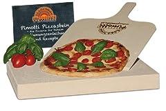 4cm Pimotti Pizzastein Brotbackstein aus Schamott