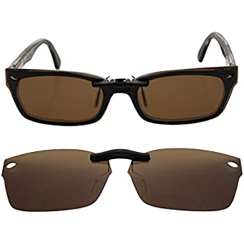 Custom Polarized CLIP-ON Sunglasses for Ray-Ban CLUBMASTER