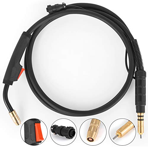 Happybuy Miller Mig Welding Gun 100Amp 10Ft Welding Torch Stinger Replacement for Miller Millermatic M-100 (248282) M-10 (195605) fit 0.030