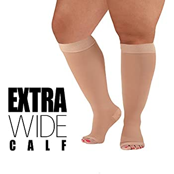 Women's Socks & Hosiery Socks Radient 2018 New Fashion Zip Compression Socks Zipper Leg Support Knee Stock Open Toe Thin Anti-fatigue Unisex Compression Socks For Sale