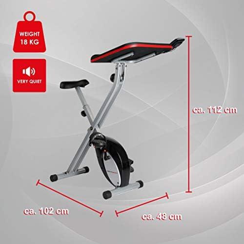 Ultrasport F-Bike Work Bicicleta estática de fitness con estación ...