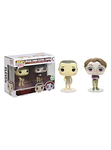 Funko Pop! Stranger Things Emerald City Comic Con Upside Down Eleven & Barb ECCC Exclusive Vinyl Figures