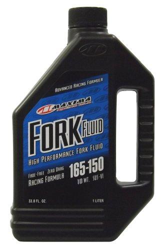 Maxima (59901-10) 165/150 Grade 10WT Zero Drag Formula Racing Fork Fluid - 1 Liter