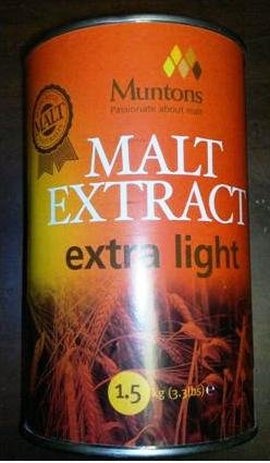 Muntons Extra Light Liquid Malt Extract (Light Malt Extract Liquid)
