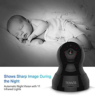 Pet Monitor Camera - TENVIS HD Wireless IP Camera w/Motion Detection, Two-Way Audio, Night Vision, iOS, Android App, Ideal Baby/Dog/Elder Security Camera