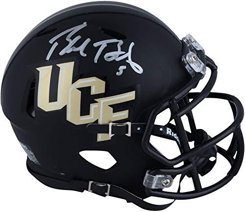 Blake Bortles UCF Knights Autographed Riddell Speed Anthracite Mini Helmet - Fanatics Authentic ()