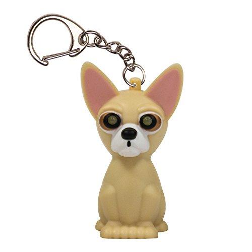 KeyGear Chihuahua Light (Chihuahua Keychain)