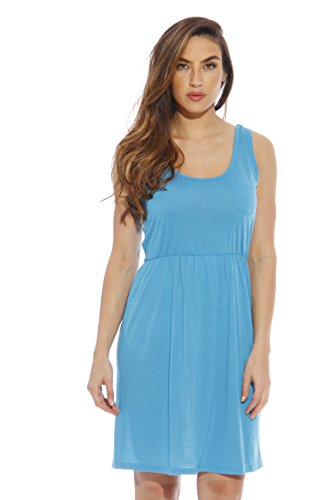 Solo Amor Short Dress vestidos de verano para la Mujer Turquoise Medium - Short Mujer
