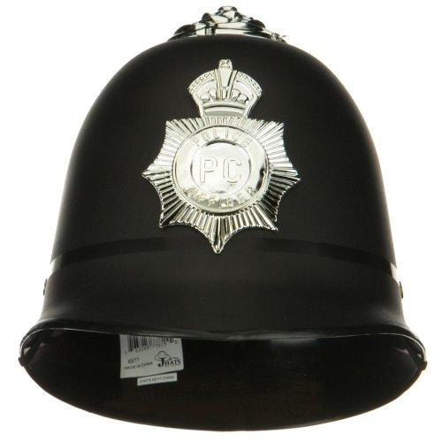British English Bobby Police Helmet Hat Costume Accessory