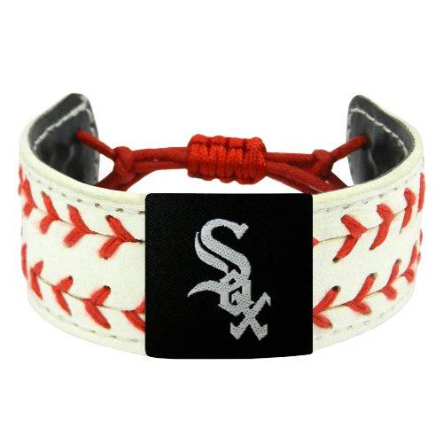 Chicago White Sox Bracelets - MLB Chicago White Sox Classic Two Seamer Bracelet