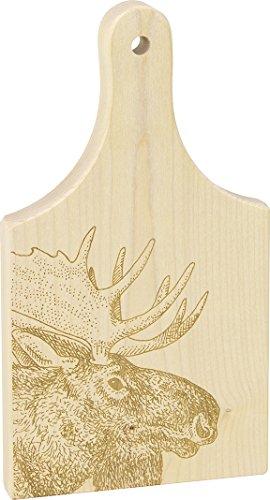 """9"""" Cutting Board, Moose - Made in USA"""