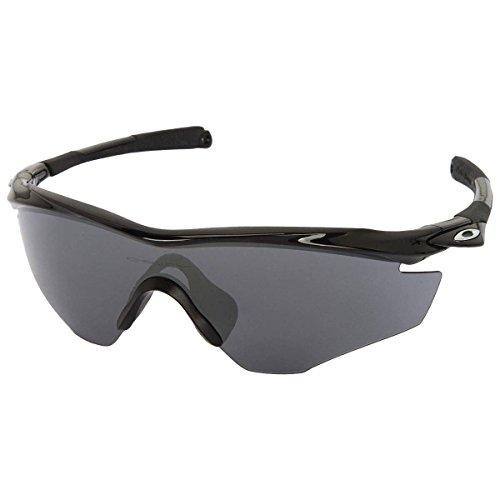G3 Lunettes Oakley S2 Black Polished Frame de soleil M2 Iridium 4q0q7