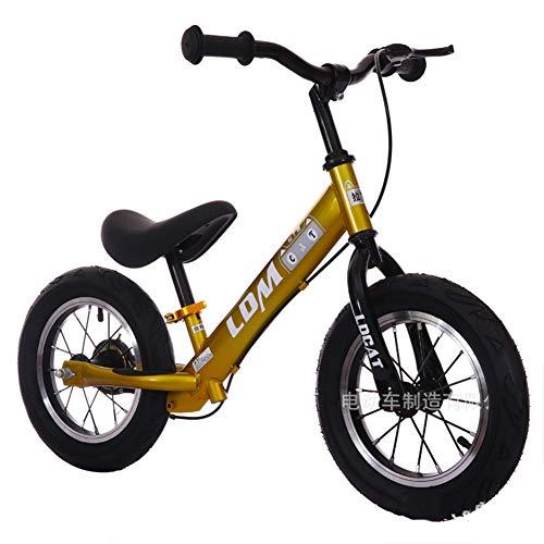 DDCX Andador de niños de 12 Pulgadas sin Pedal Slide Cochecito bebé Cochecito bebé Equilibrio Bicicleta Bicicleta niño yo...