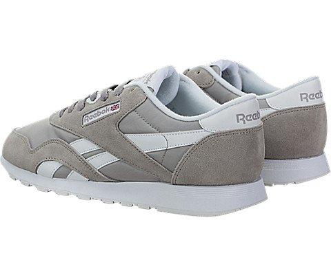 Reebok Damen Classic Sneaker Whisper Grau / Weiß