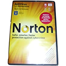 Norton by Symantec AntiVirus with Antispyware Windows 7 Vista XP Computer Download Software Install Disc