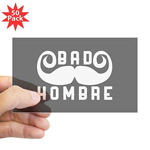 CafePress - Bad Hombre - Sticker (Rectangle 50 pk) by CafePress