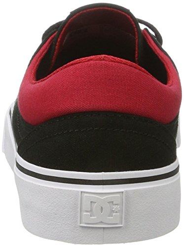 DC Shoes Trase Tx - Botas Hombre Negro (Black /         Red /         White)