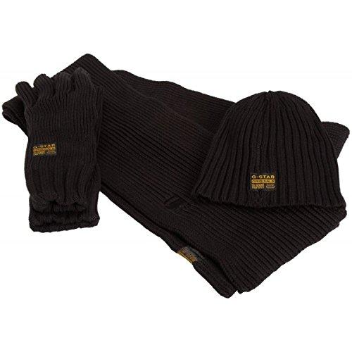 e88c5565c33 Coffret G-star Echarpe + Bonnet + Gants  Amazon.fr  Vêtements et accessoires