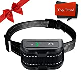 Dog Bark Collar, Rechargeable Anti Barking Control Collar with with Beep/Vibration/Shock Modes,Intelligent Waterproof No Bark Training Collars for Small Medium Large Dogs