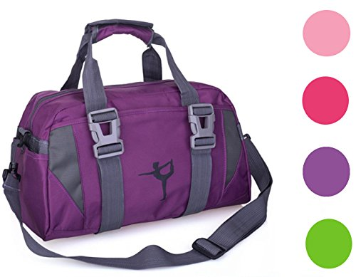 - 2017snow Small/Large Dance Duffle Bag For Girls Sport Gym Bags For Women Yoga Bag