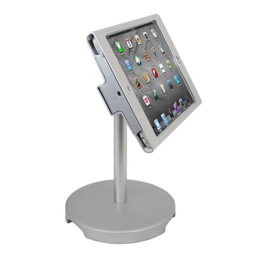 Angel pos 1521040 ipad mini pos kiosk stand enclosure with for Ipad projector reviews