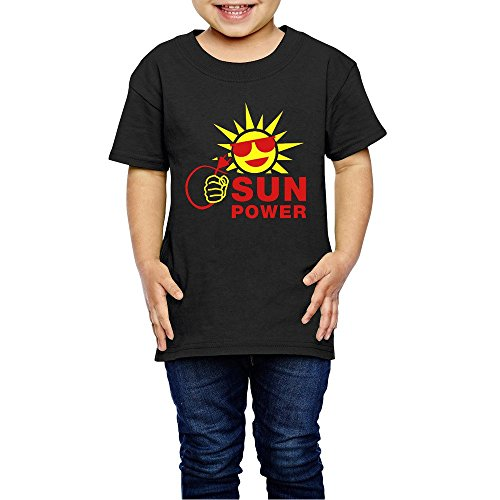 2-6 Years Kids For Toddler Sun Power Best Cool T Shirts