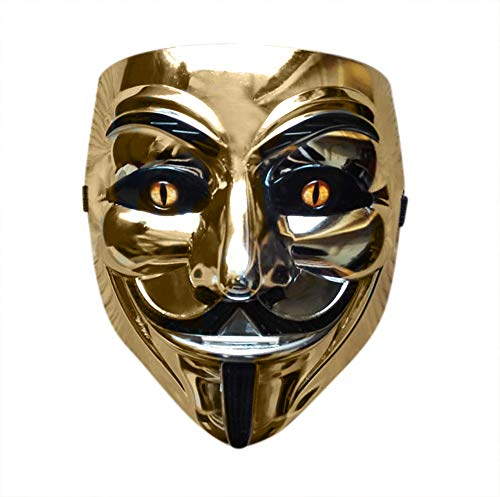 Halloween Anonymous Costume Cosplay Guy Fawkes V for Vendetta Mask -