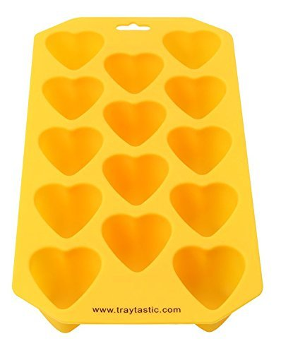 Silicone Trays Mold by Traytastic! (Heart Mold)