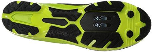 Pearl Izumi Men's X-Project Elite Cycling Shoe, Black/Lime Punch, 45.5 EU/11.2 D US