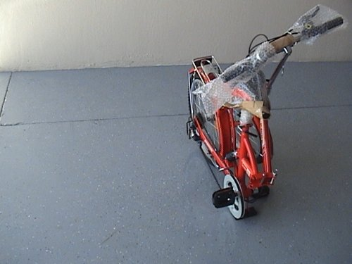 Folding Bike 20 Inchces Color RED by BESTCO PRODUCTS (Image #1)
