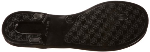 mujer Sandalias para Edgecomb Negro de caucho Hunter W24547 x8qfAwYP