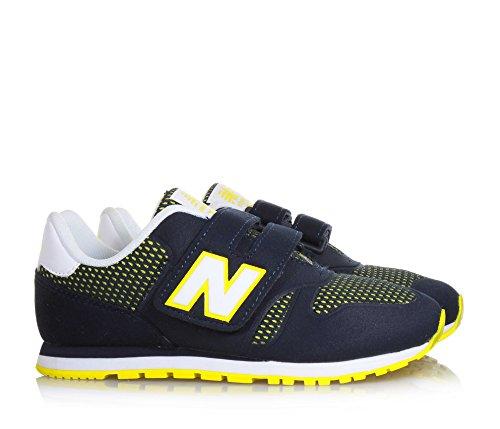New KA373NRP Jaune Bleu Sneaker Balance enfant BBnZrP4