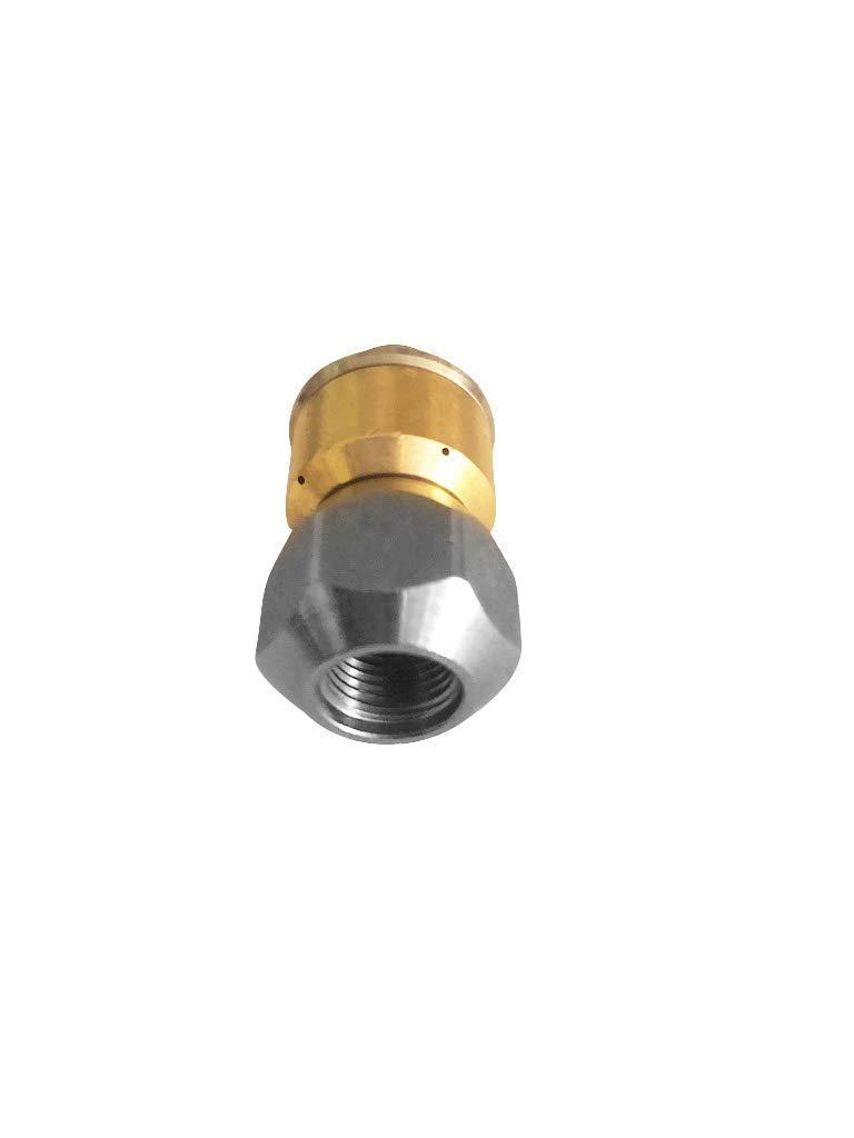 4-Teilig f/ür K/ärcher Kr/änzle Professional Rohrreinigungsd/üse rotierend /& Doppelstutzen M22 HD /& HDS 50 Meter Rohrreinigungsschlauch-Set