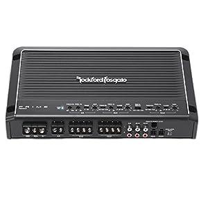 Rockford Fosgate R600X5 Prime 600 Watts 5-Channel Amplifier + 5 Channel Amp Kit
