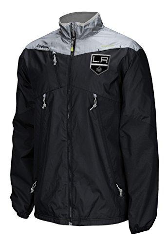 Los Angeles Kings Reebok NHL 2016 Center Ice Kinetic Rink Full Zip Jacket
