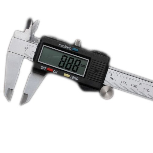 """6/"""" 150mm Stainless Steel Digital Vernier Electronic Caliper Micrometer Guage LCD"""