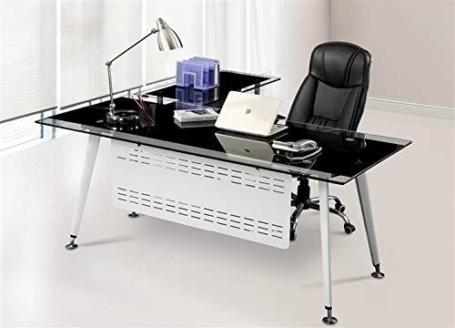 Grupo SDM Mesa Oficina Mueble a Derecha, Cristal, 180x85 cms ...